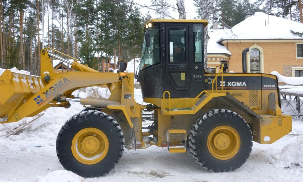 Вывоз и уборка снега в Новосибирске
